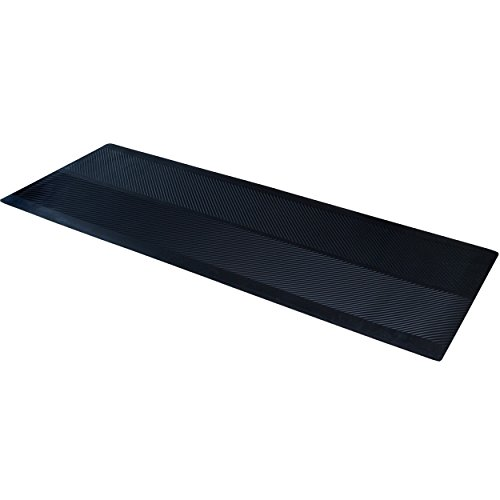 "ClimaTex Dimex Indoor/Outdoor Rubber Runner Mat, 27"" X 10', Black (9A-110-27C-10) from ClimaTex"