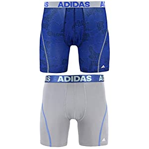 adidas Men's Sport Performance ClimaCool Boxer Underwear (2 Pack)