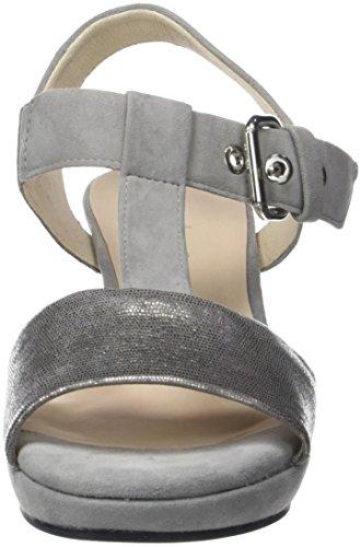 Sangle De Cheville De Grau Des Gabor La Gris Femmes Mode Noir Confort gris Sandales zZBcwq