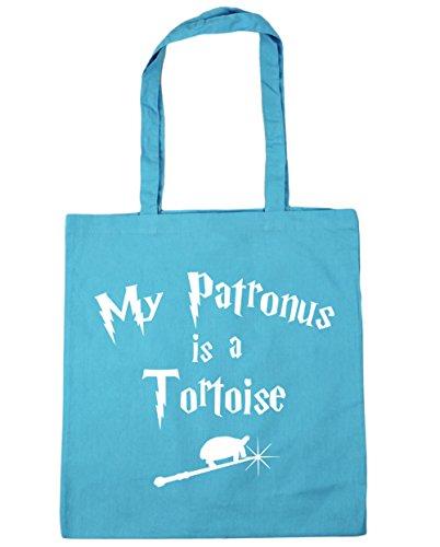 10 Tortoise Patronus A Bag Gym Surf Beach litres Is Tote My x38cm 42cm HippoWarehouse Shopping Blue ITS75