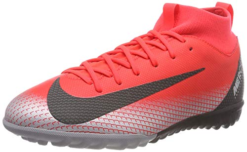 NIKE Youth Soccer Jr. SuperflyX Academy CR7 Turf Shoes (5 M US Big Kid)