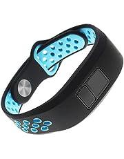Replacement Band for Garmin Vivofit 3 Vivofit JR Junior 2 Kids Fitness Wristband Black+Blue