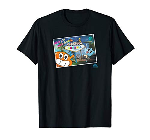The Amazing World of Gumball Postcard T-Shirt