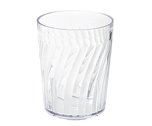 6 oz. Clear Tahiti Tumblers, SAN Plastic by GET 2206-1-CL-EC (Pack of - Tumbler Beverage Tahiti