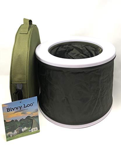 Bivvy Loo Portable Camping Toilet - Festival Toilet - Fishing Toilet - Outdoor...