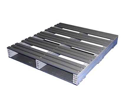 Jifram 05000092 36 Inch By 32 2 Way Entry Recycled Plastic Pallet