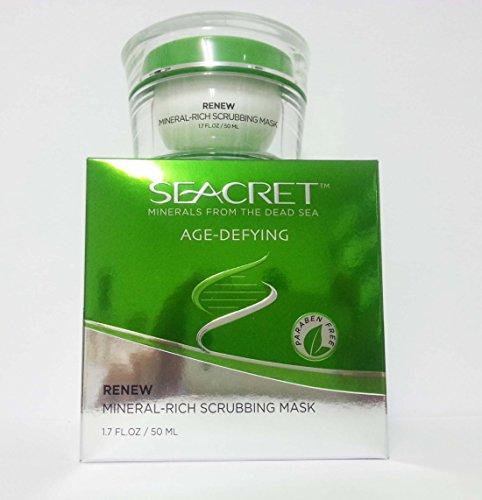 Seacret Renew Mineral-Rich Scrubbing Mask by Seacret