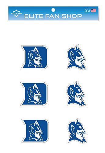 Devils Decal Blue - Elite Fan Shop Duke Blue Devils 3