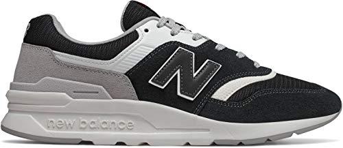 New Balance Men's 997H V1 Sneaker, Black/RAINCLOUD, 8 D US ()