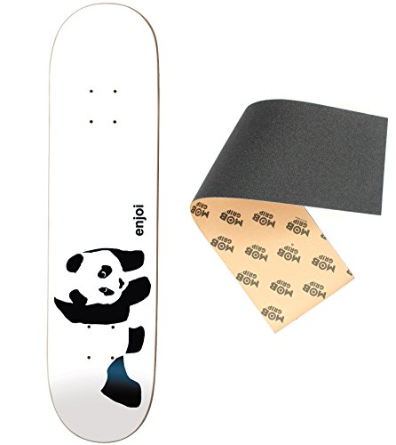 海賊規範イソギンチャクEnjoi Skateboards Whitey Pandaデッキのみスケートボードwith Mob Griptape