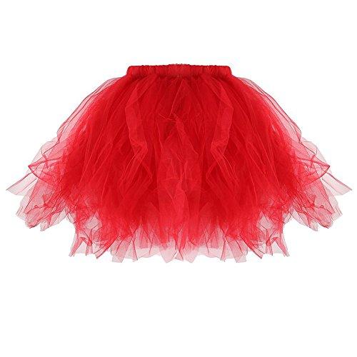 Fille Soire Nai Qiao Robe Ballet Jupe Enfant TM Rouge Dguisement Jeune Femme Tutu Mini Vie F1wHIq
