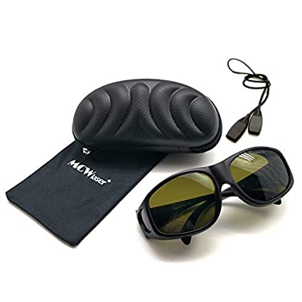IPL Laser Safty Protective Goggles Gafas 190nm-2000nm Típico para Dispositivos de Belleza y cosmetología Tipo de absorción EP-20 Estilo 9