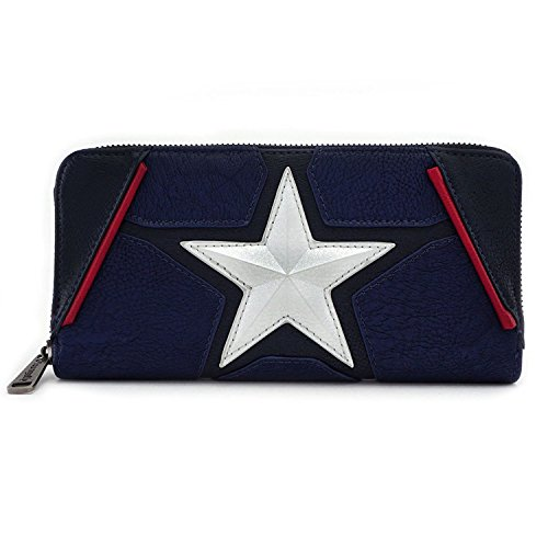 Loungefly x Marvel Captain America Costume Cosplay Wallet