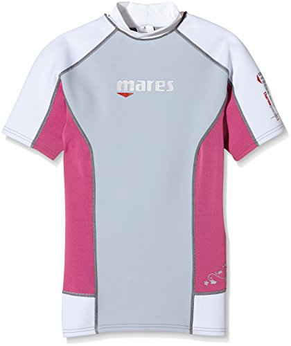 Mares Damen Tauch-shirt Kurzarm Thermo Guard S-Sleeve 0.5 mm, Pink, L, 412982LPK