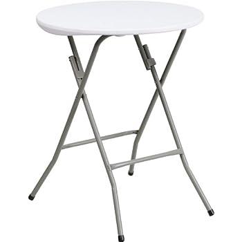 furniture 24. flash furniture 24\u0027\u0027 round granite white plastic folding table 24