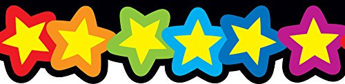 - Creative Teaching Press Rainbow of Stars Border (6476)