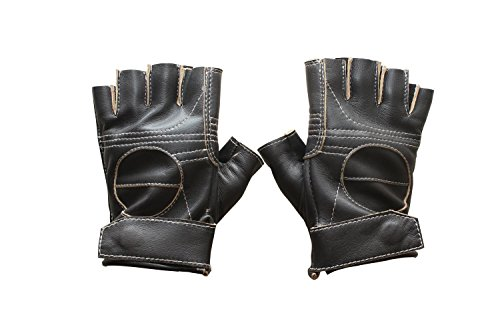 Star Wars Rogue One Jyn Erso Womens Leather Gloves - Brown Real Leather Gloves