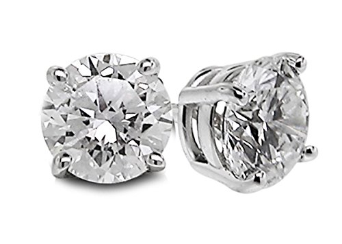 diamond gem earrings - 7