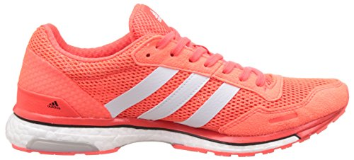 3 Womens Orange Adidas Boost Running Trainers Adios Adizero qPwAp