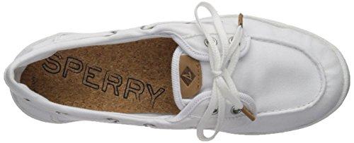 Sperry Top-sider Womens Drive Hale Sneaker Hvit