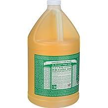 Dr. Bronner's Pure Castile Soap - Fair Trade and Organic - Liquid - 18 in 1 Hemp - Almond - 1 gal - each 1 by Dr. Bronner's
