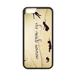 [H-DIY CASE] For Apple Iphone 6 Plus 5.5 inch screen-Peter Pan -Never Grow Up -Take Me to The Neverland-CASE-17