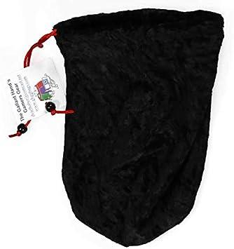 Amazon.com: Black Ninja Velvet Dice Bag 7inx5in Drawstring ...