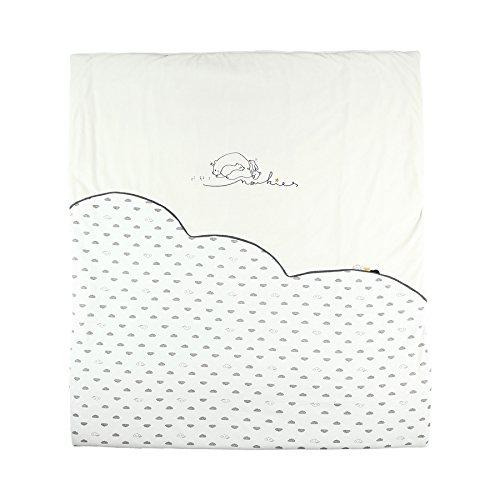 Noukies BB1850.09 Timeless Veloudoux Decke, weiß
