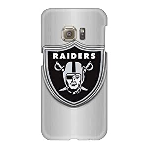 Shock Absorbent Cell-phone Hard Covers For Samsung Galaxy S6 With Unique Design Fashion Oakland Raiders Pattern JohnPrimeauMaurice