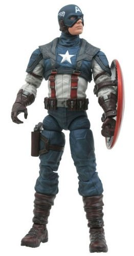 Diamond Select Toys Marvel Select: Captain America The First Avenger Movie Action Figure by Diamond Select