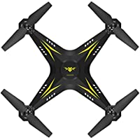 WIFI Remote Contorl Drone, COOL99 2.4G HD Camera FPV WIFI Drone Quadcopter UAV Remote Control Helicopter Real-time (A, Yellow)