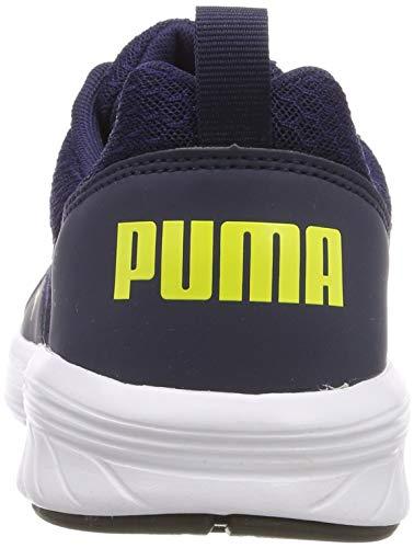 Yellow Para Nrgy Niños Jr peacoat Azul blazing Puma Comet Zapatillas Unisex vHXHwA