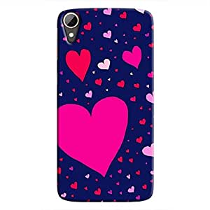 Cover It Up Flying Love Hard Case for HTC Desire 828 - Multi Color