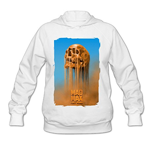 SAMMOI Mad Max Fury Road Men's Sport Long Sleeve Hoodie XXL White