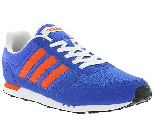 Adidas Neo Stad Racer Mens Utbildare Blå Aw3875 Vit-röd-blå