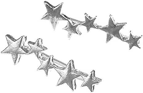 XBKPLO Womens Earrings Fashion Creative Letter OK Dangle Earrings Diamond Temperament Lady Wild Jewelry Gifts