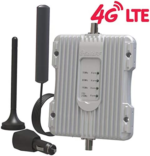 SolidRF-Car-Cell Phone -Booster- Verizon AT&T T-Mobile Sprint Signal Booster for Truck Vehicle up to 32x