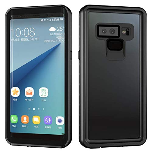 - Galaxy Note 9 Case,Full-Body Rugged Clear Bumper Case with Built-in Screen Protector 360 Degree Protection for Samsung Galaxy Note 9 2018 Newest Released (Black)