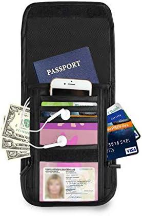 フレンチブルドッグ犬 パスポートホルダー セキュリティケース パスポートケース スキミング防止 首下げ トラベルポーチ ネックホルダー 貴重品入れ カードバッグ スマホ 多機能収納ポケット 防水 軽量 海外旅行 出張 ビジネス