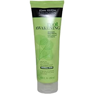 Root Awakening Health Infusing Shampoo by John Frieda for Normal Hair Unisex Shampoo, 8.45 Ounce