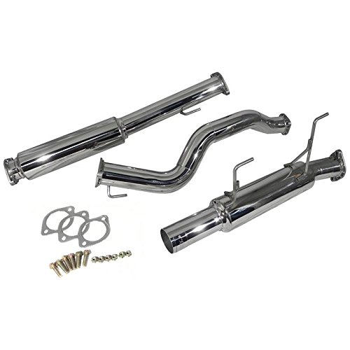 (Injen 11-14 Nissan Juke 1.6L 4cyl Turbo FWD ONLY (incl Nismo) SS Cat-Back Exhaust (ses1902))
