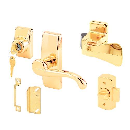 Prime-Line ProductsK 5164 Georgian Lever Latch, Gold ()