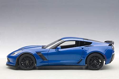 Autoart 71265-1//18 Chevrolet Corvette C7 Z06 2014 Neu Laguna Blue Tintcoat
