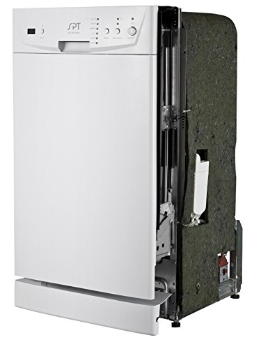 SPT SD-9252W Energy Star 18″ Built-In Dishwasher, White