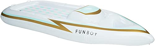 FUNBOY-FBYACHT17-Giant-Pool-Float-Inflatable,-Yacht-Speed-Boat