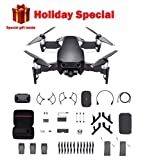 DJI Mavic Air Fly More Combo, Onyx Black (2018 Version), Professional Case, Landing Gear and More
