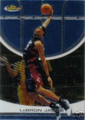 2005 06 Topps Finest Basketball Cards Set of 100 superstars (Includes Lebron James, Dwyane Wade, Kobe Bryant, Allen Iverson, Carmelo Anthony, Shaquille O'Neal, and more)