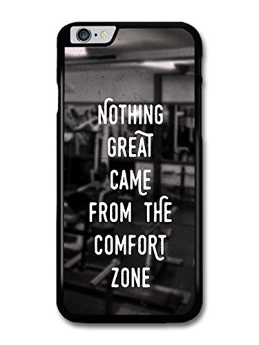 Gym Motivational Quote on Black and White Stylish Fashion coque pour iPhone 6 Plus 6S Plus