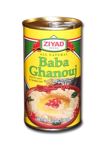 Dip Eggplant (Ziyad Baba Ghannouge Eggplant Dip (Baba Ghannouge, 13 oz (380g))