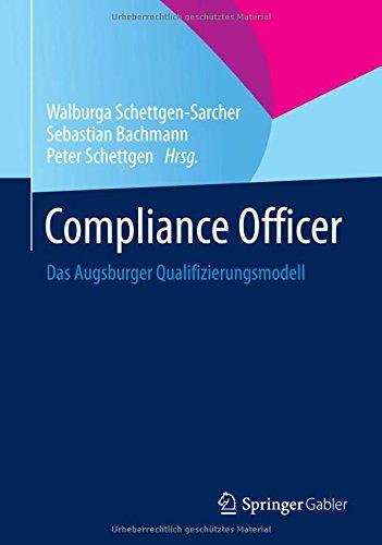 Compliance Officer: Das Augsburger Qualifizierungsmodell